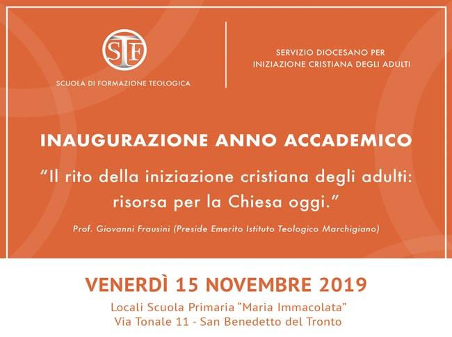 Inaugurazione dell'anno accademico 2019-20